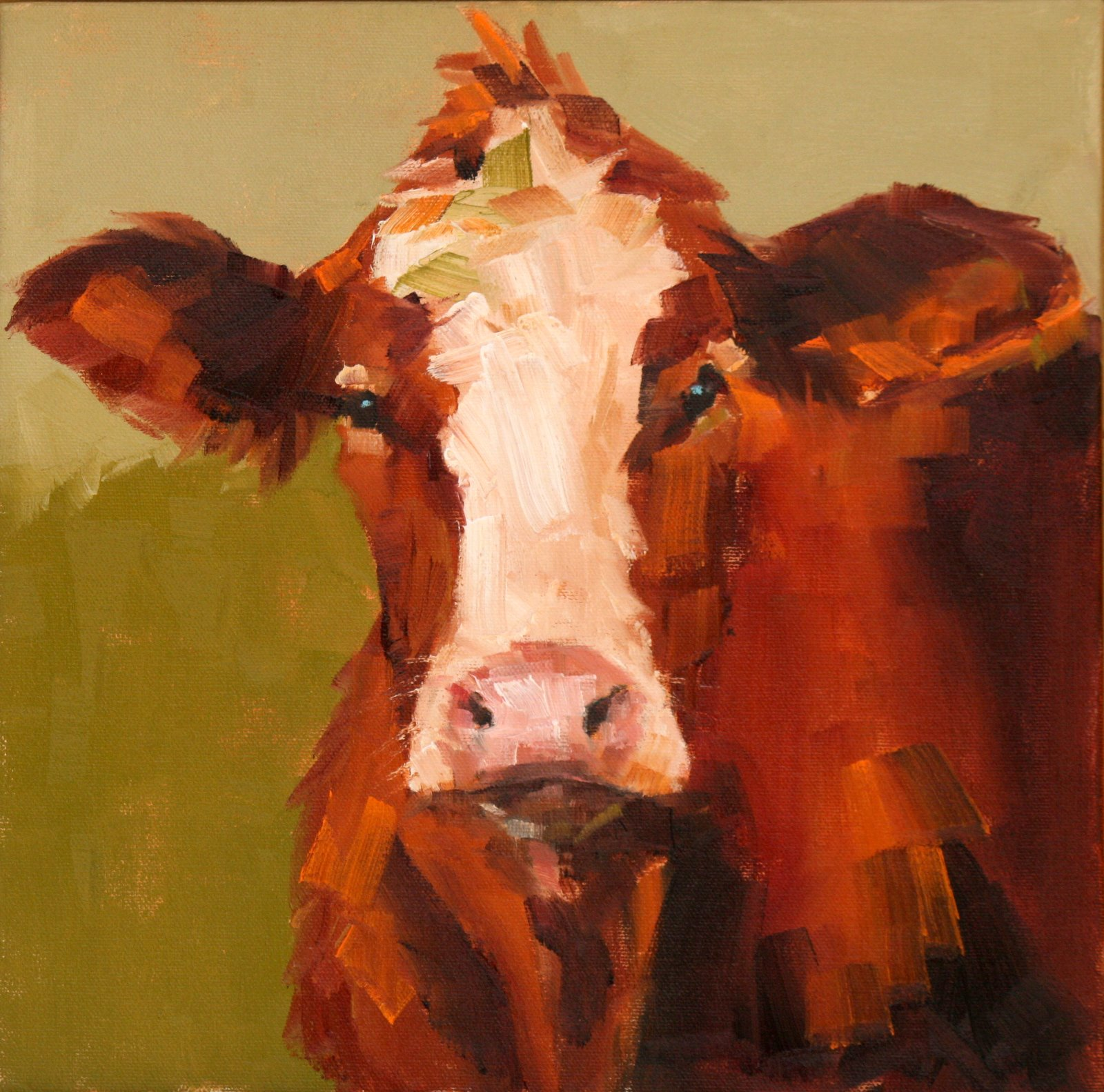 """What are you looking at?"" original fine art by Carol Carmichael"