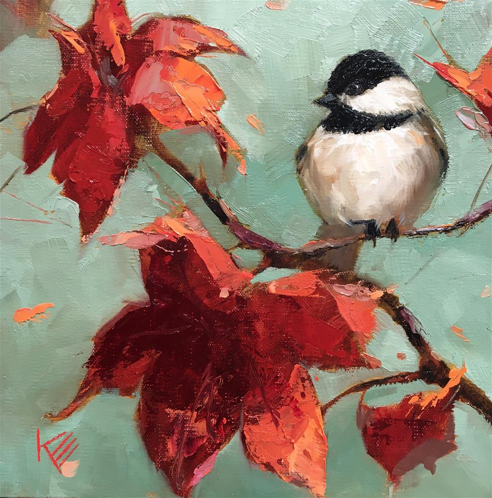 """Fall friend"" original fine art by Krista Eaton"
