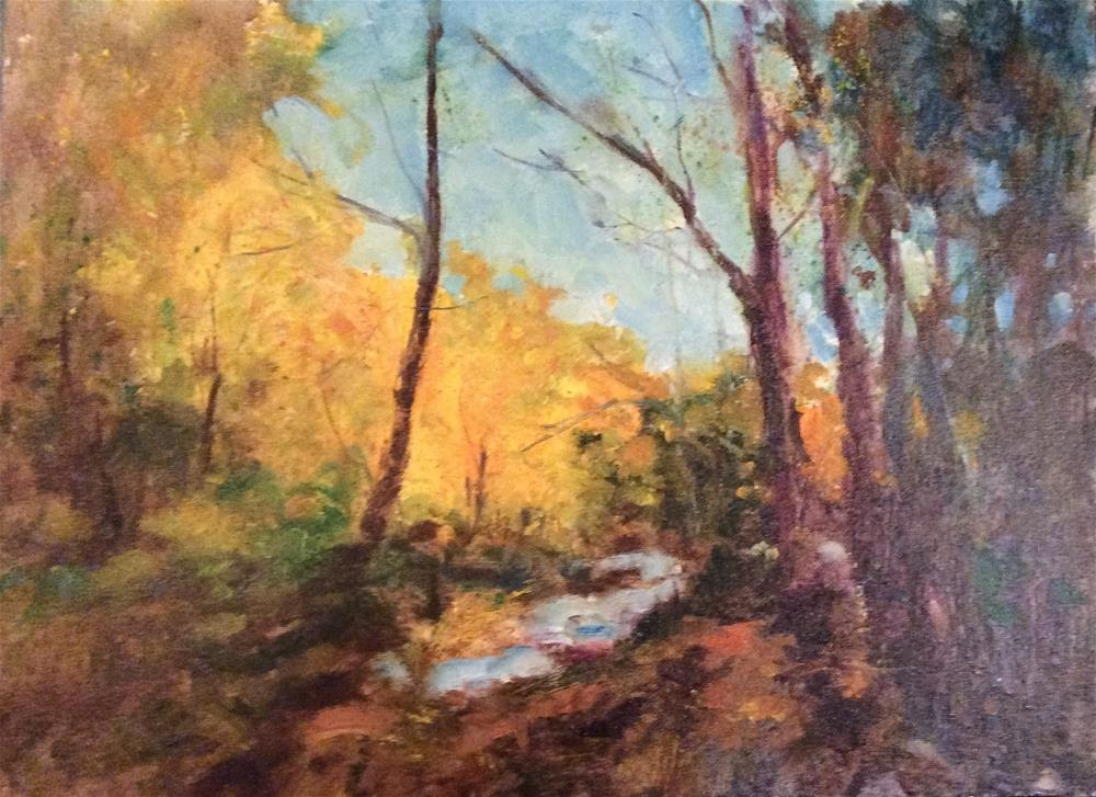 """Autumn"" original fine art by John Shave"