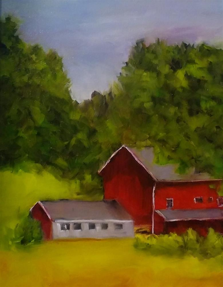 """""""Fresh Air"""" original fine art by Cathy Dykstra"""