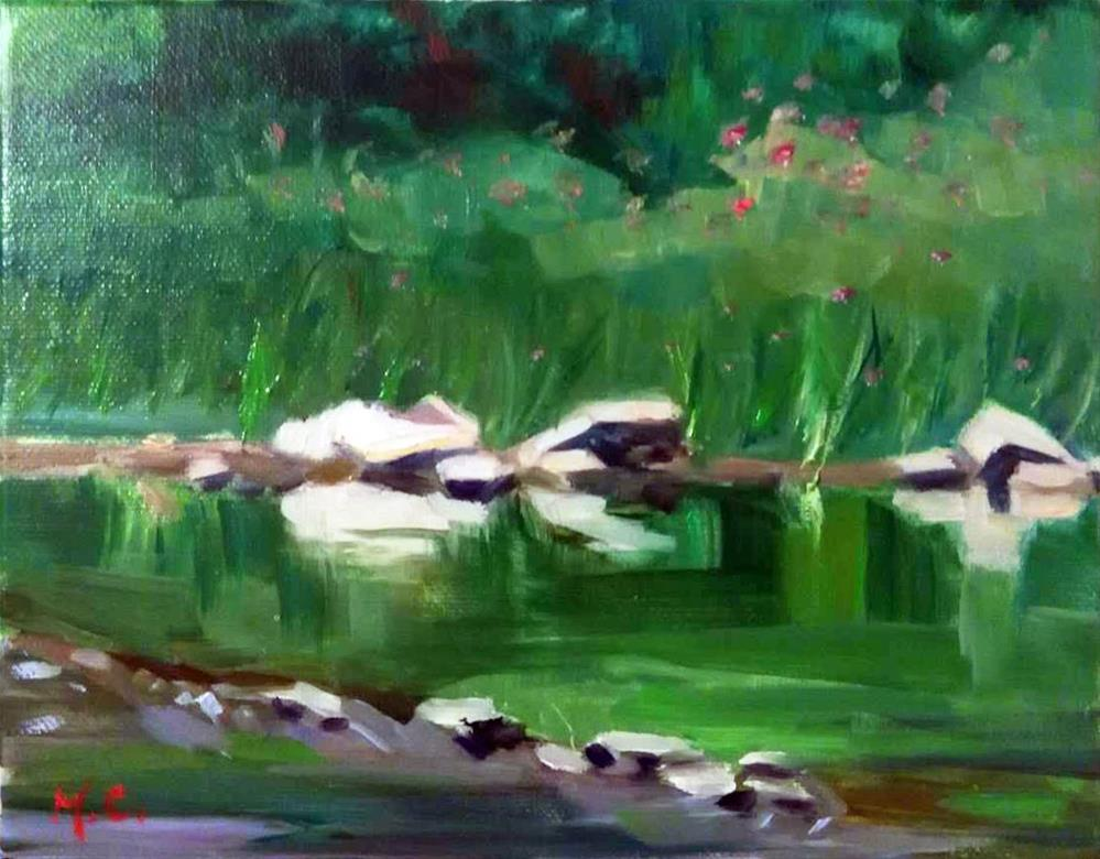 """Stream"" original fine art by Michelle chen"