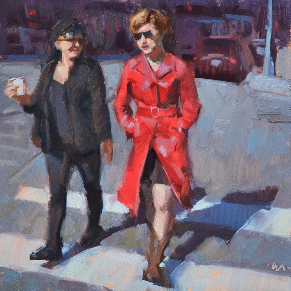 """""""Super Cool"""" original fine art by Carol Marine"""