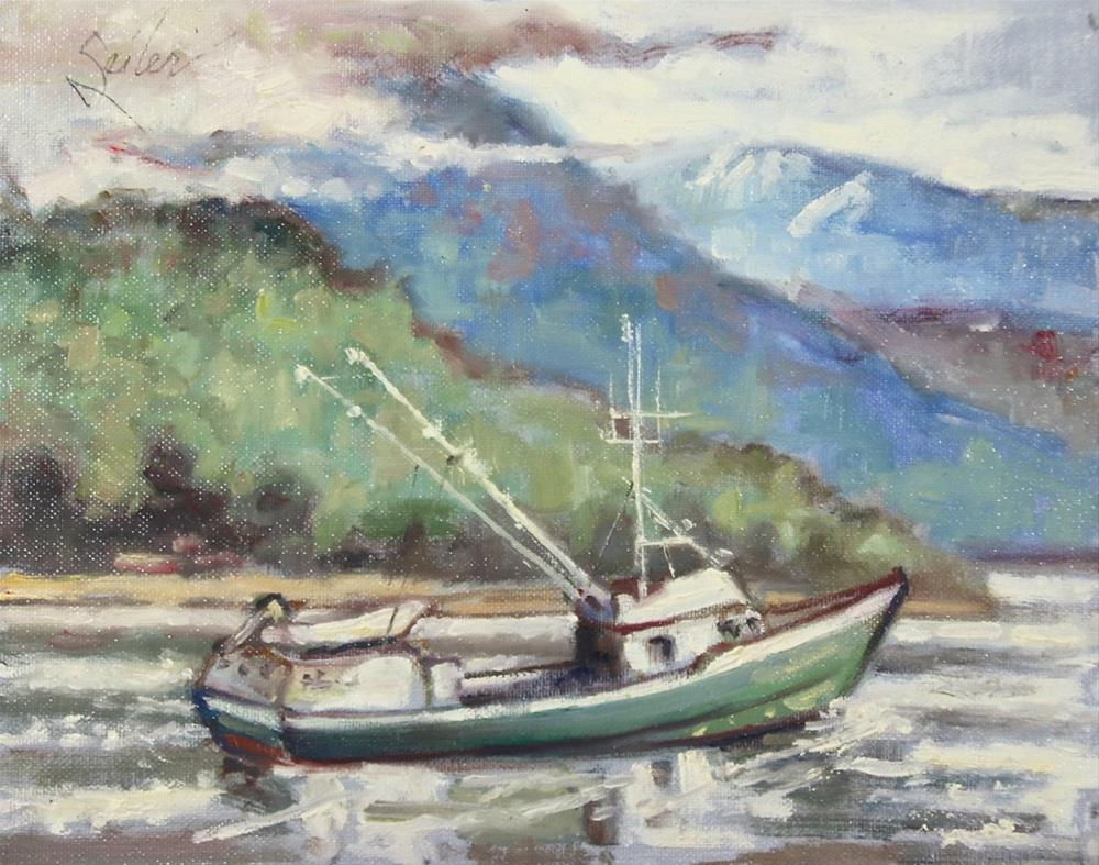 """Chilkat Seiner"" original fine art by Larry Seiler"