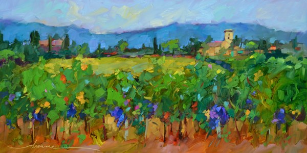"""Timeless Tuscany"" original fine art by Dreama Tolle Perry"