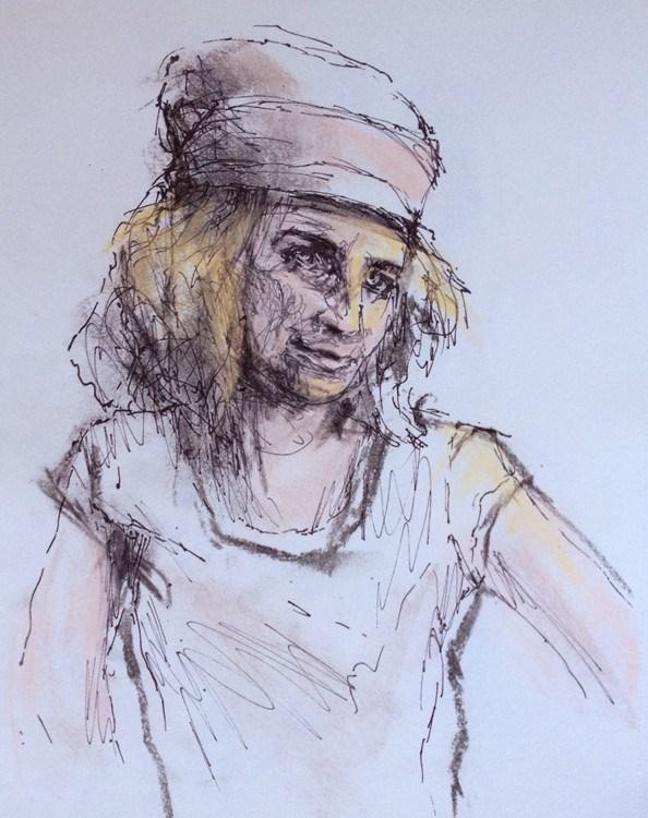 """Drawing #2-20"" original fine art by Katie Wilson"