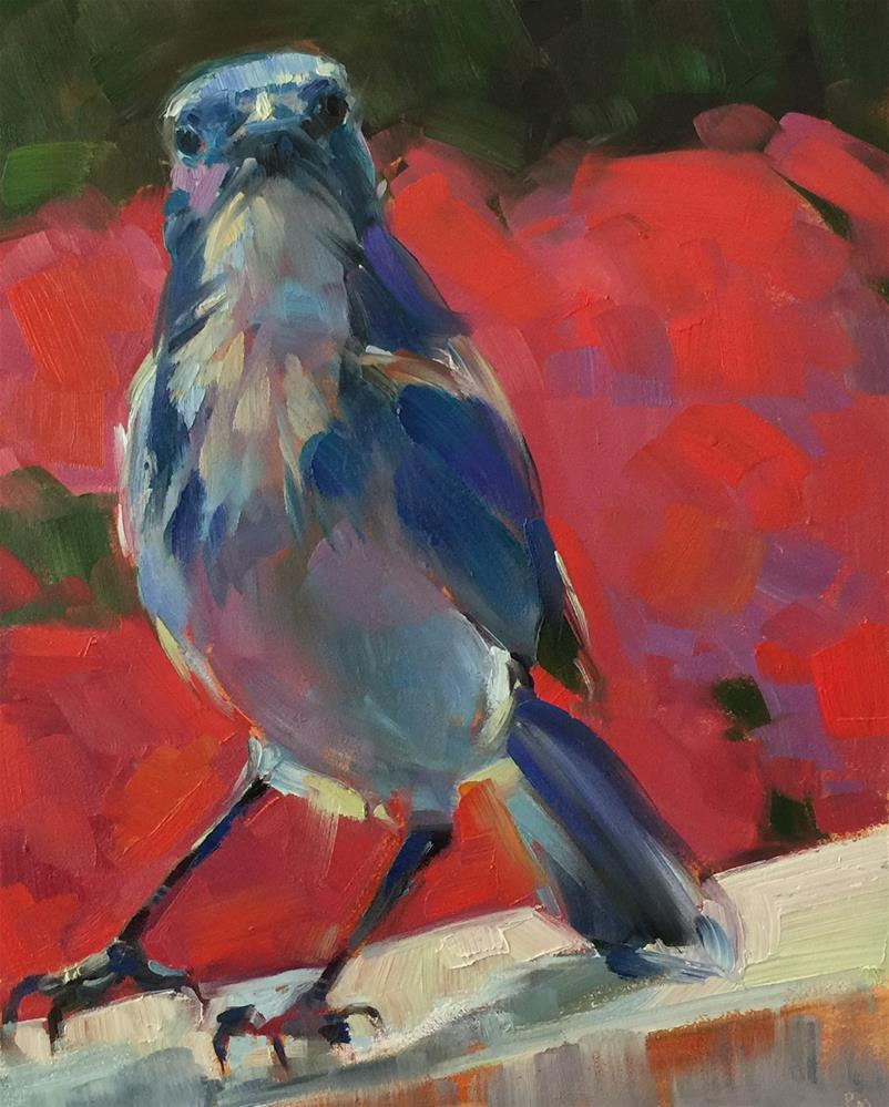 """Promenade"" original fine art by Patti McNutt"