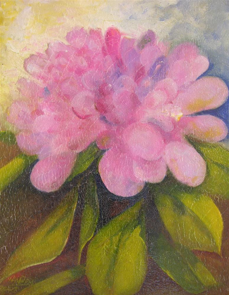 """Hydrangea"" original fine art by Nan Perry"
