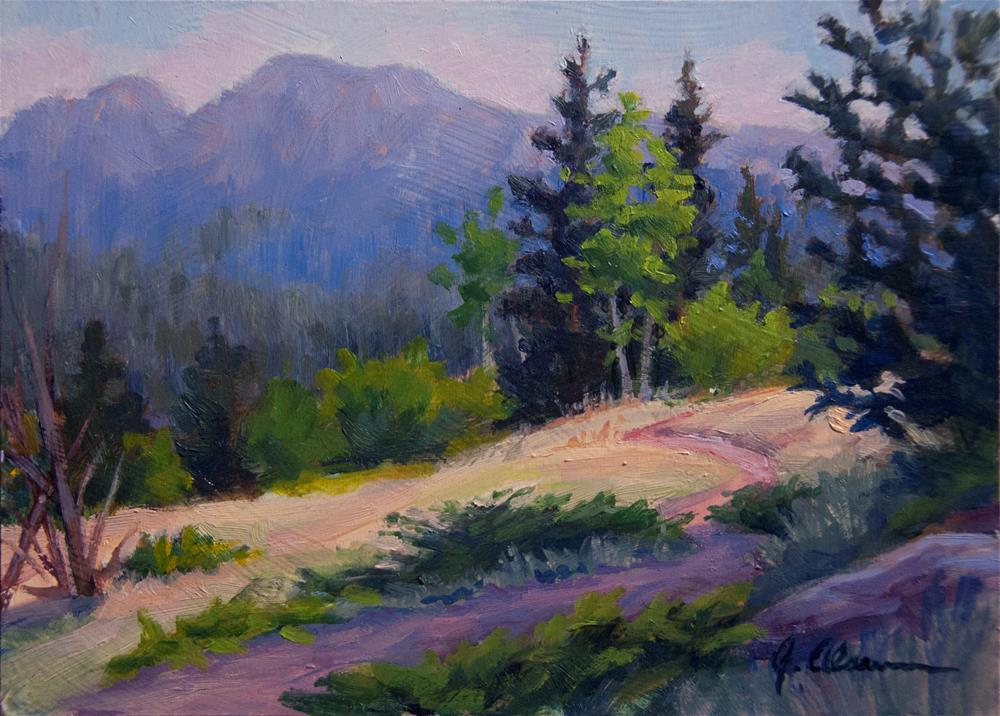 """Mcgraw Ranch Trail"" original fine art by Gary Alsum"