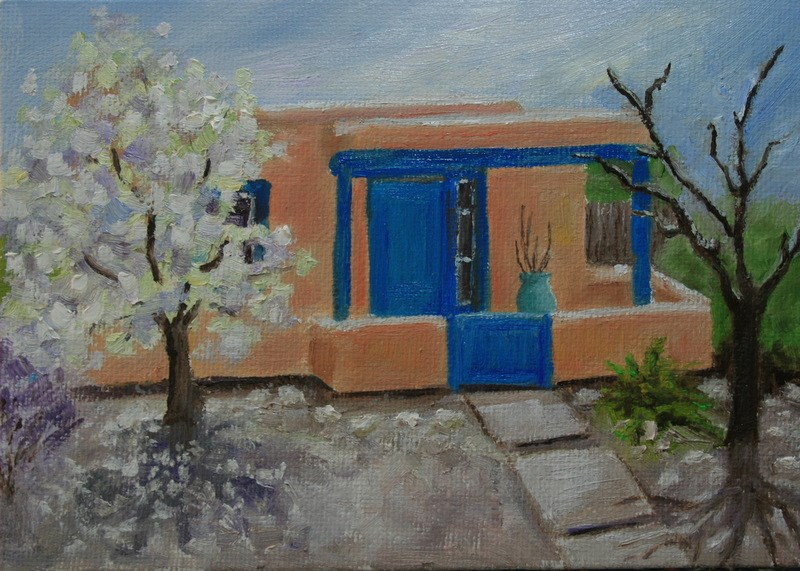 """Santa Fe Spring"" original fine art by Jean Nelson"