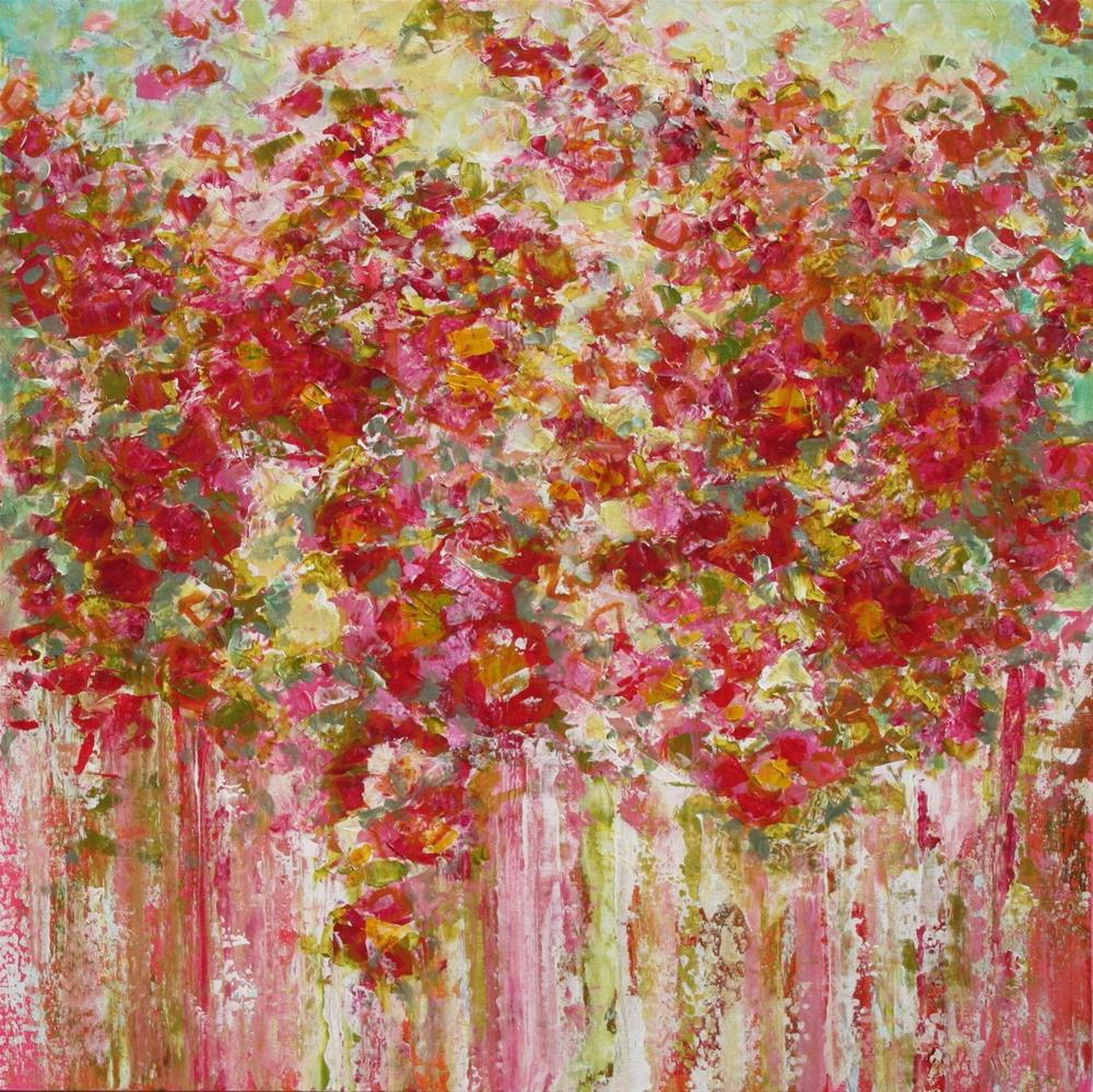 """""""Garden in Bloom"""" original fine art by Sage Mountain"""