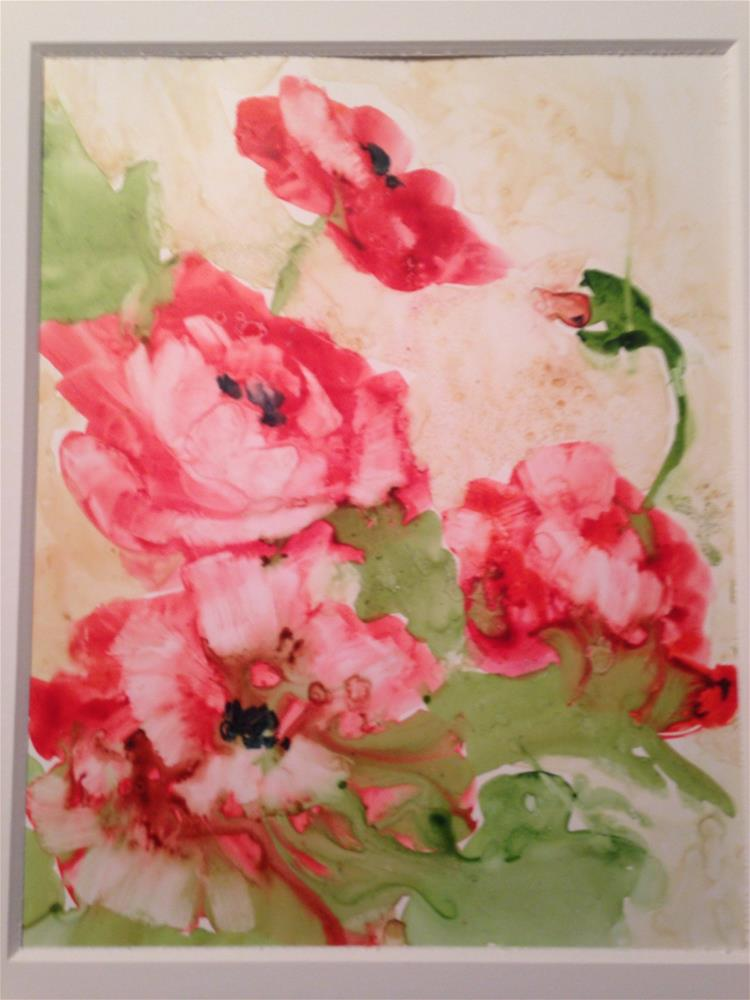 """Poppies"" original fine art by Margie Whittington"