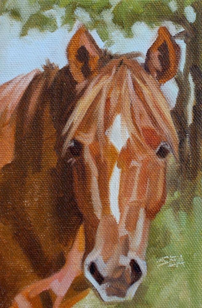"""Sweet Face"" original fine art by Susan Ashmore"