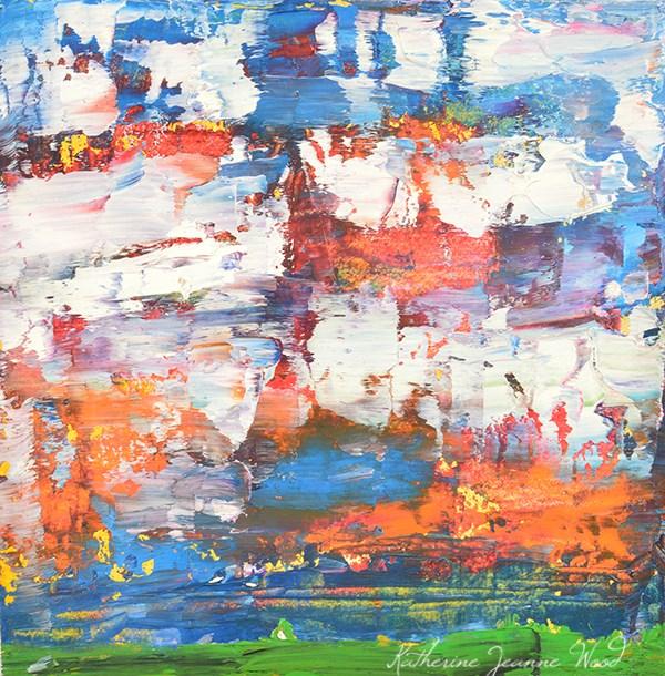 """Landscape No 59"" original fine art by Katie Jeanne Wood"