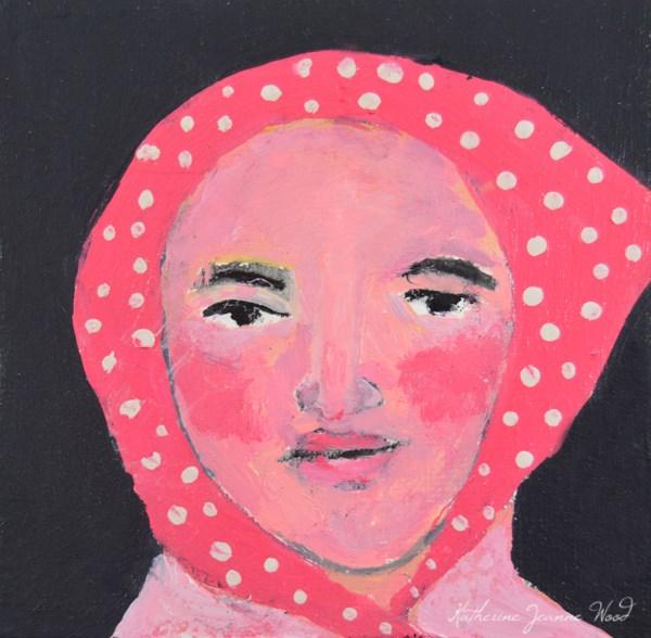 """Masha"" original fine art by Katie Jeanne Wood"