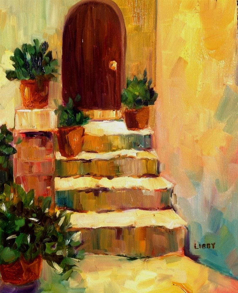 """Entrance"" original fine art by Libby Anderson"