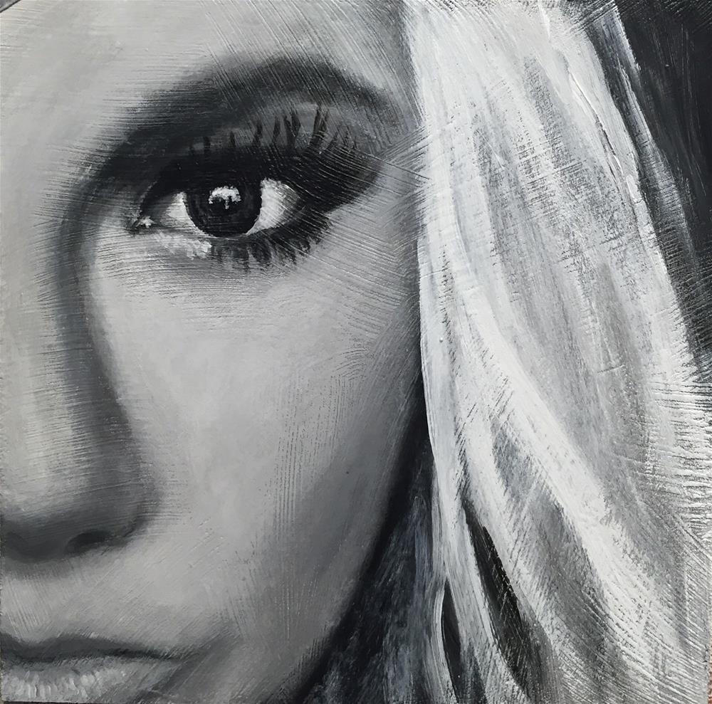 """""""Julie"""" original fine art by Melissa Gresham"""