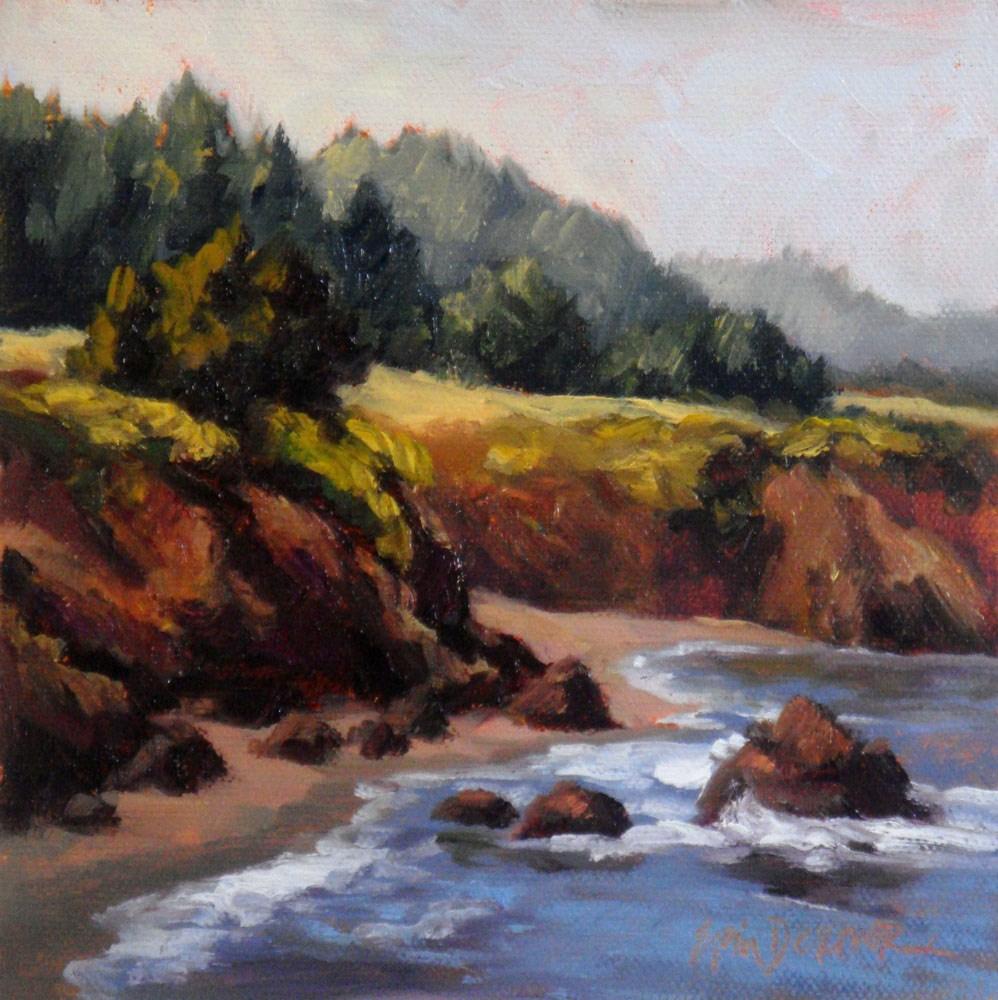 """""""Bluffs at Little River"""" original fine art by Erin Dertner"""