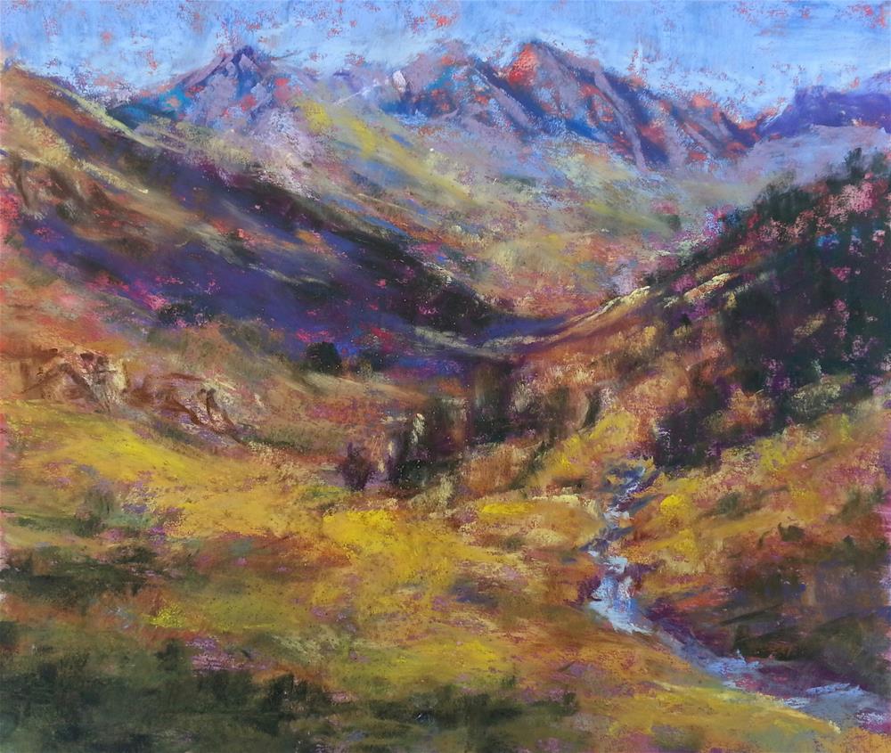 """""""Rustler's Gulch"""" original fine art by Becky Chappell"""