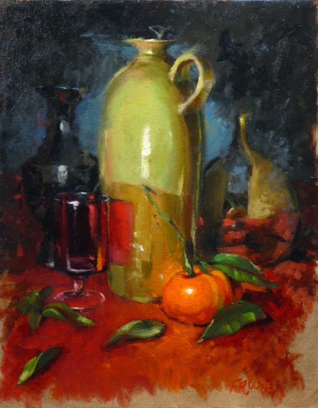 """Tangerine"" original fine art by Dave Froude"