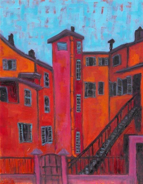 """Cote d'Azur"" original fine art by William Cook"