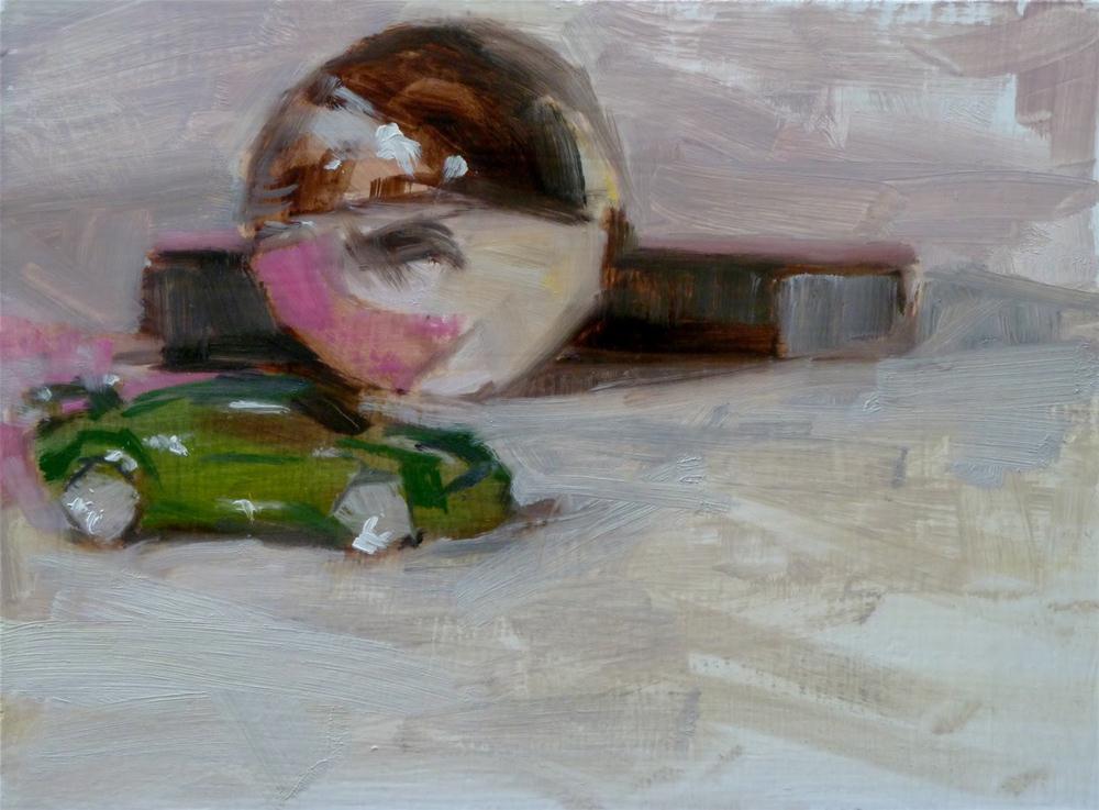 """""""Speedball"""" original fine art by Ron Ferkol"""