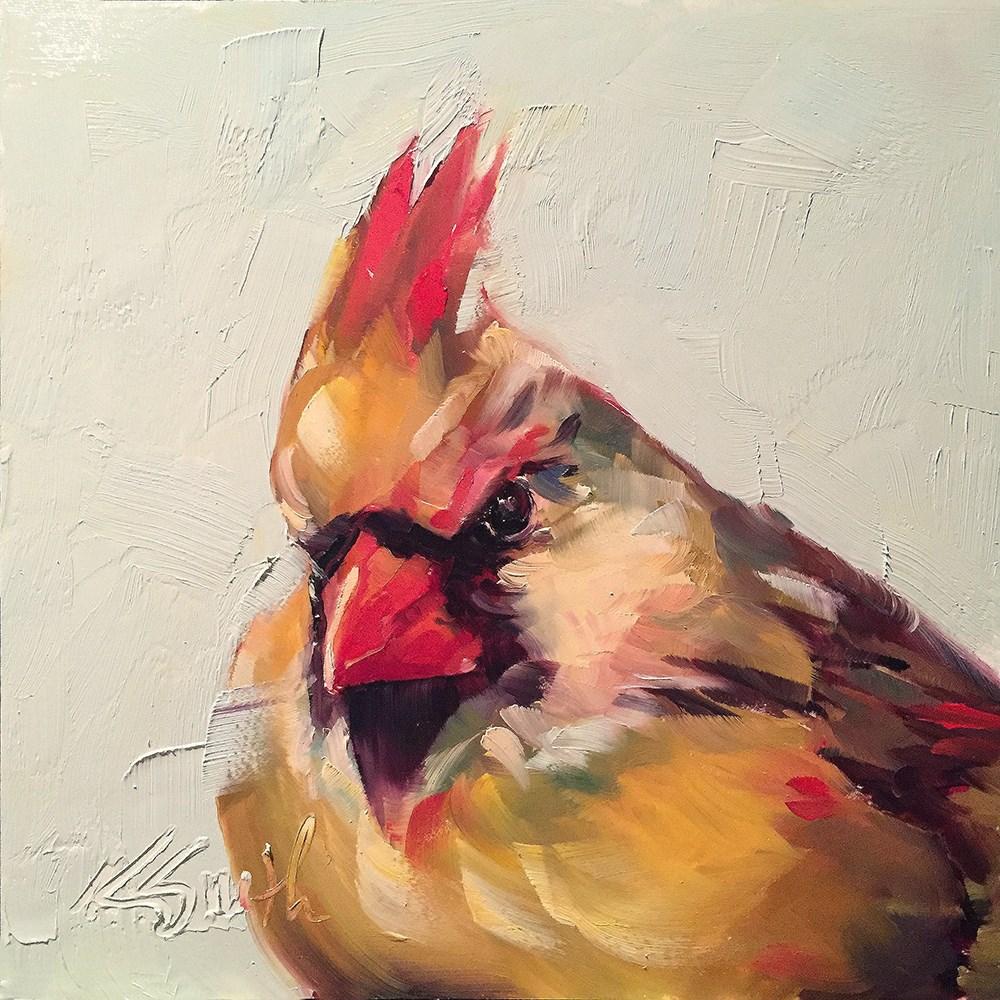 """for the birds"" original fine art by Kim Smith"