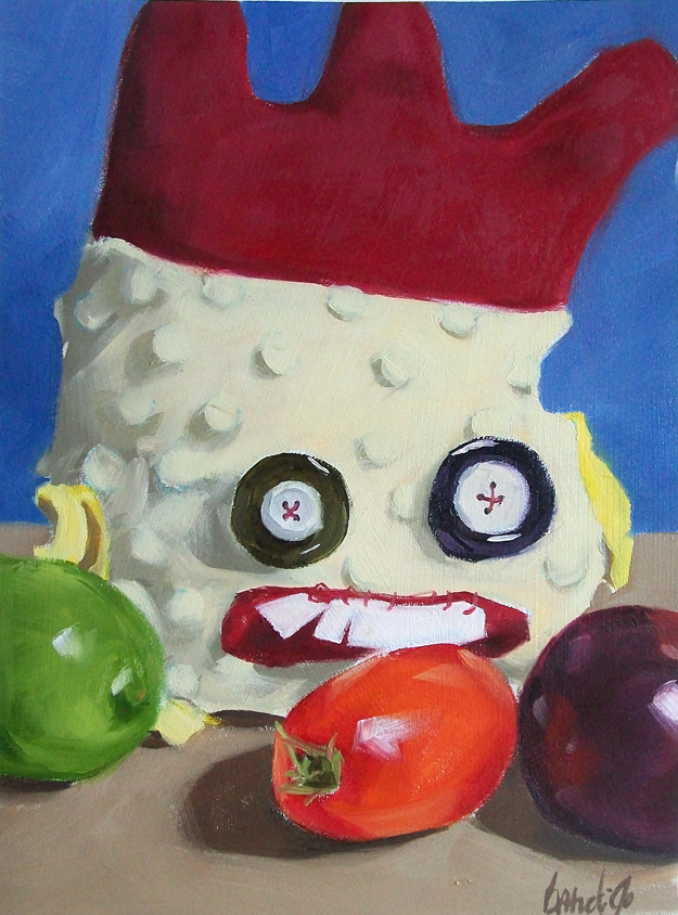 """produce"" original fine art by Brandi Bowman"