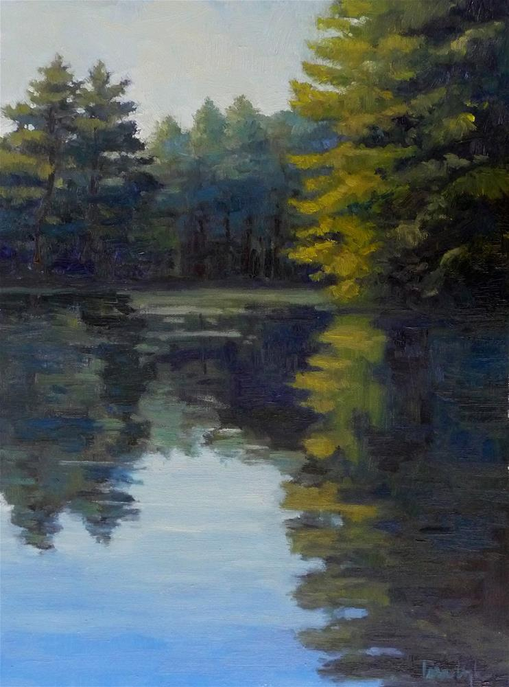 """Still Waters"" original fine art by Lisa Kyle"