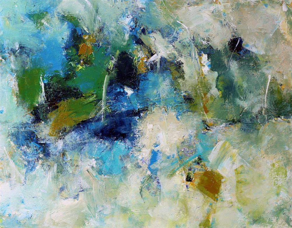 """Summit"" original fine art by Elizabeth Chapman"