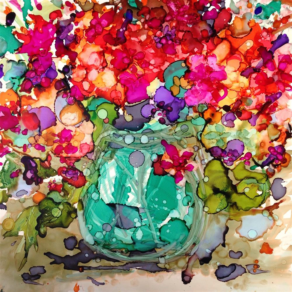 """Mother's Day Bouquet"" original fine art by Kelly Alge"