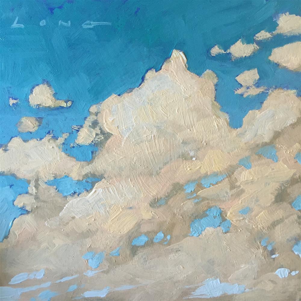 """""""Cloud Composition #5"""" original fine art by Chris Long"""