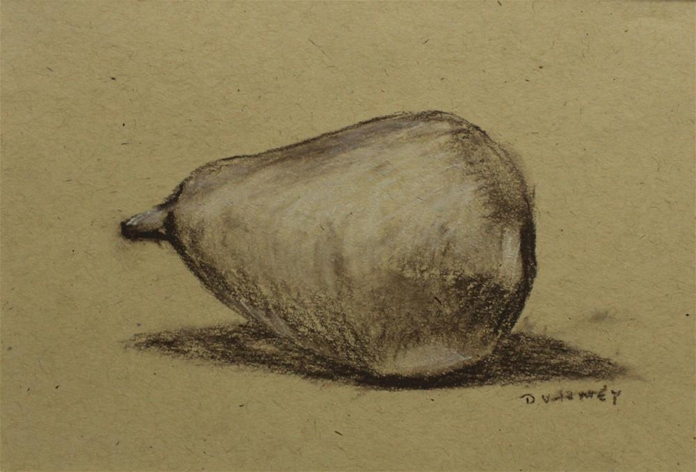 """Pear"" original fine art by Daniel Varney"