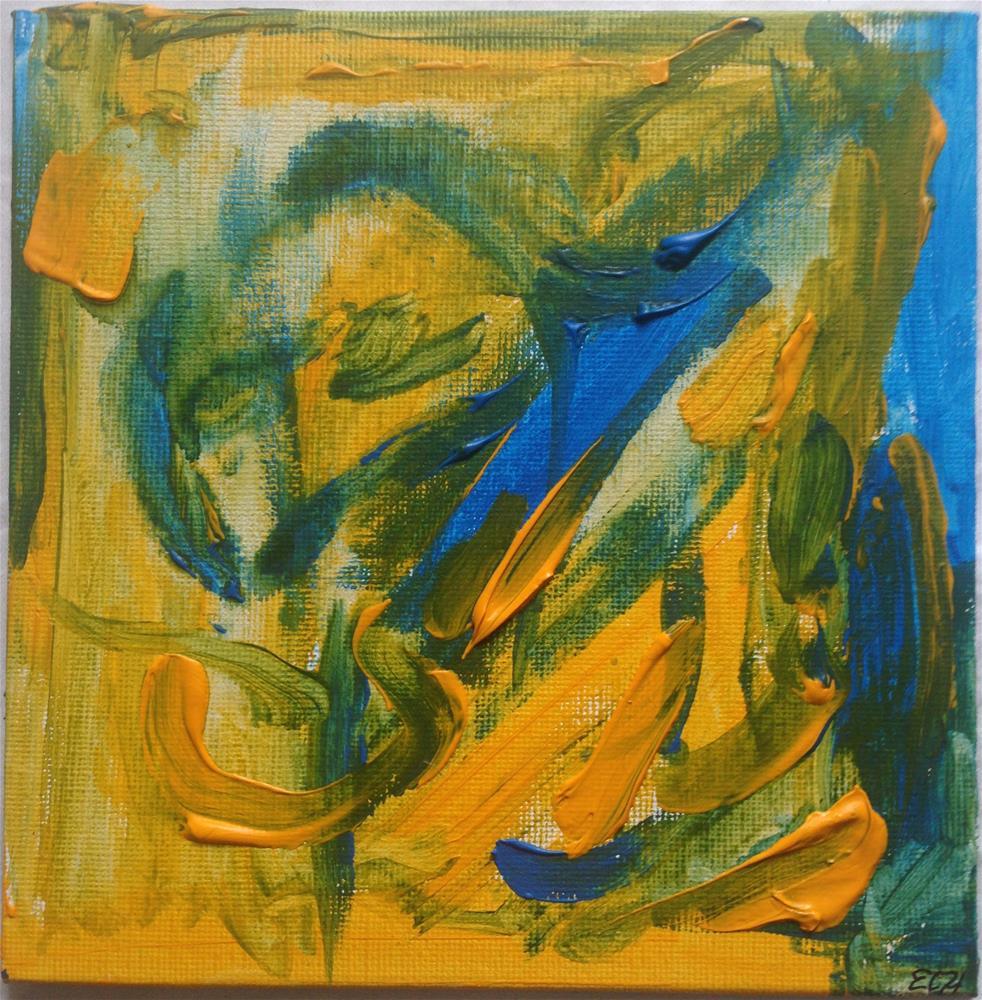 """""""Lizards in the Swamp"""" original fine art by Ellis Charles Hoffmeister"""