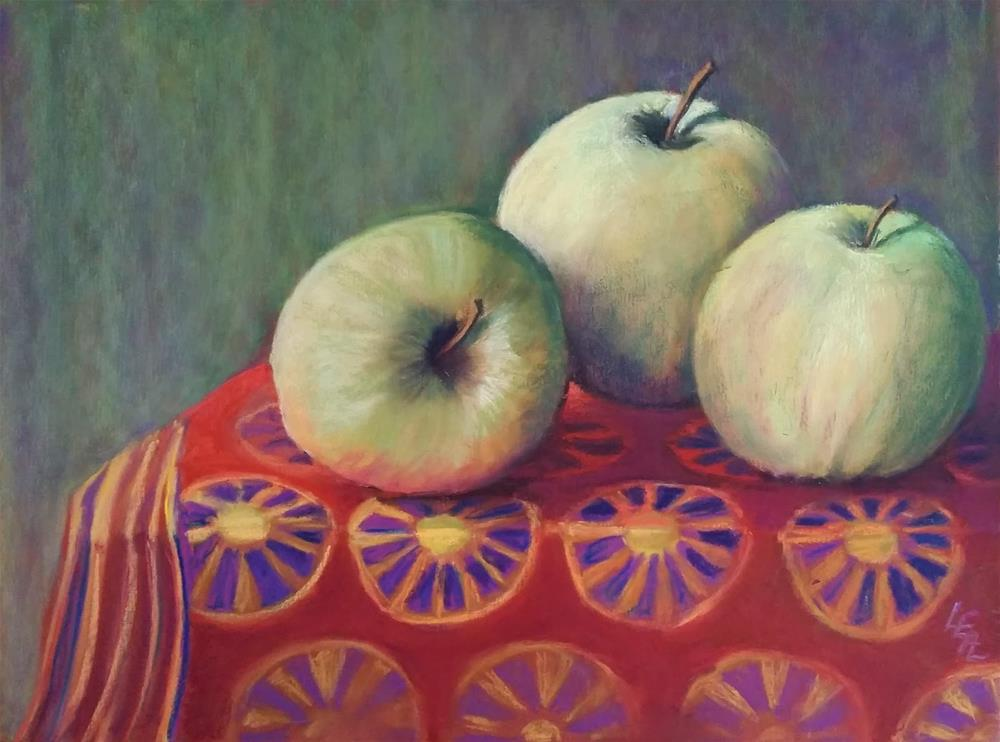 """Golden Delicious"" original fine art by Anna Lisa Leal"