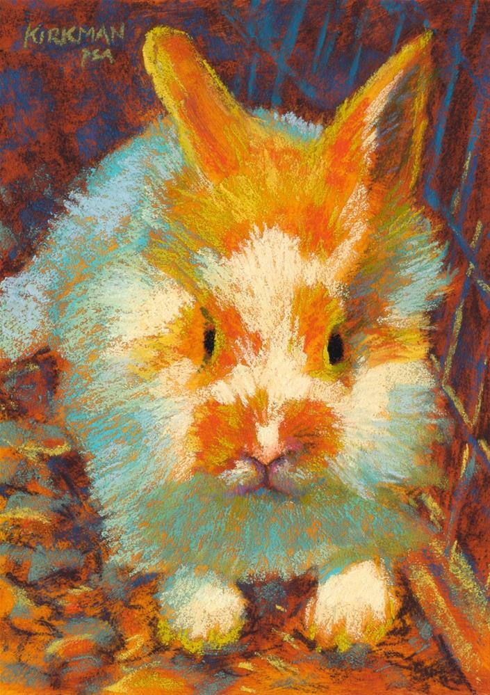 """""""Butter Fluff"""" original fine art by Rita Kirkman"""