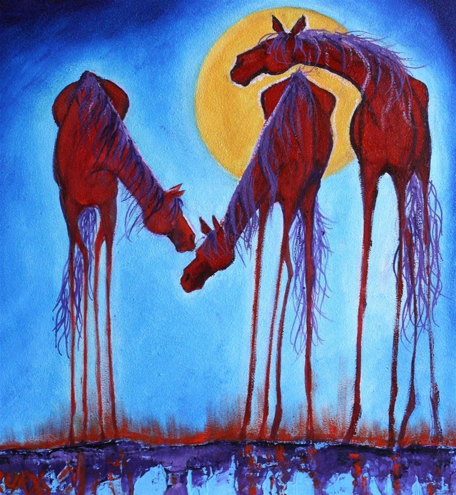 """Midnight Madness"" original fine art by Colleen Drury"