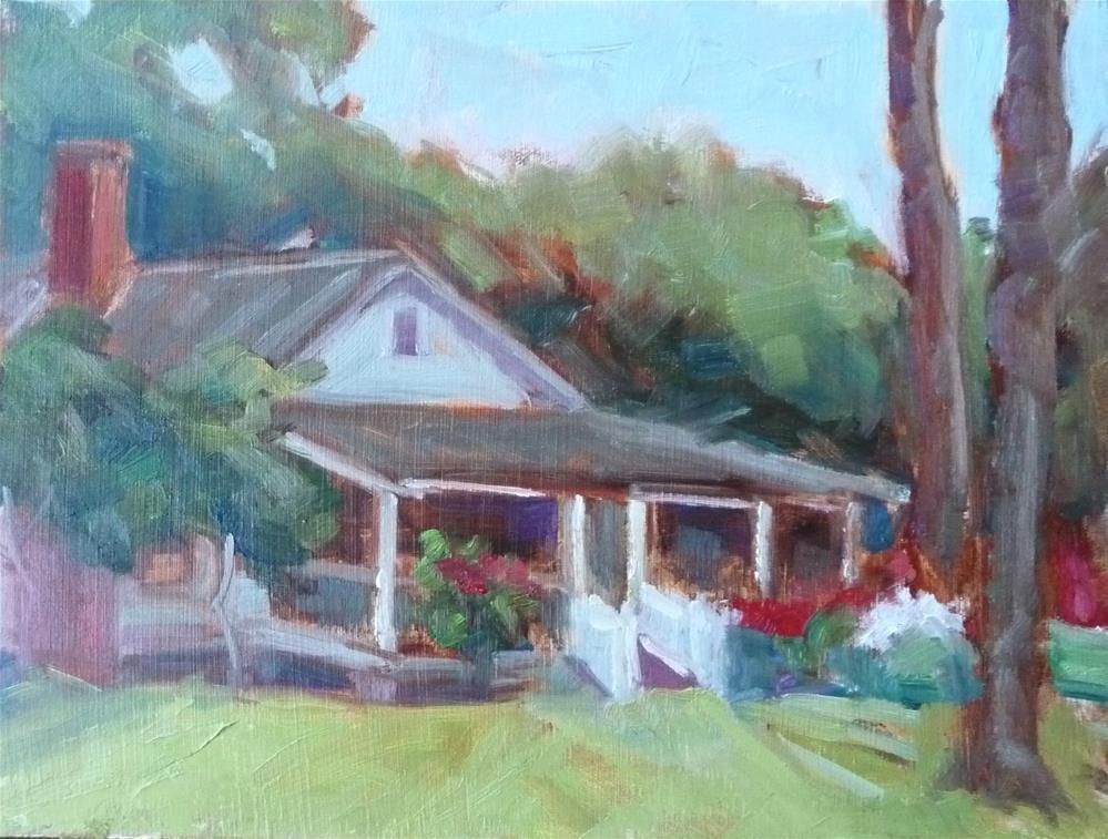 """St. Simons Island"" original fine art by Carol Josefiak"