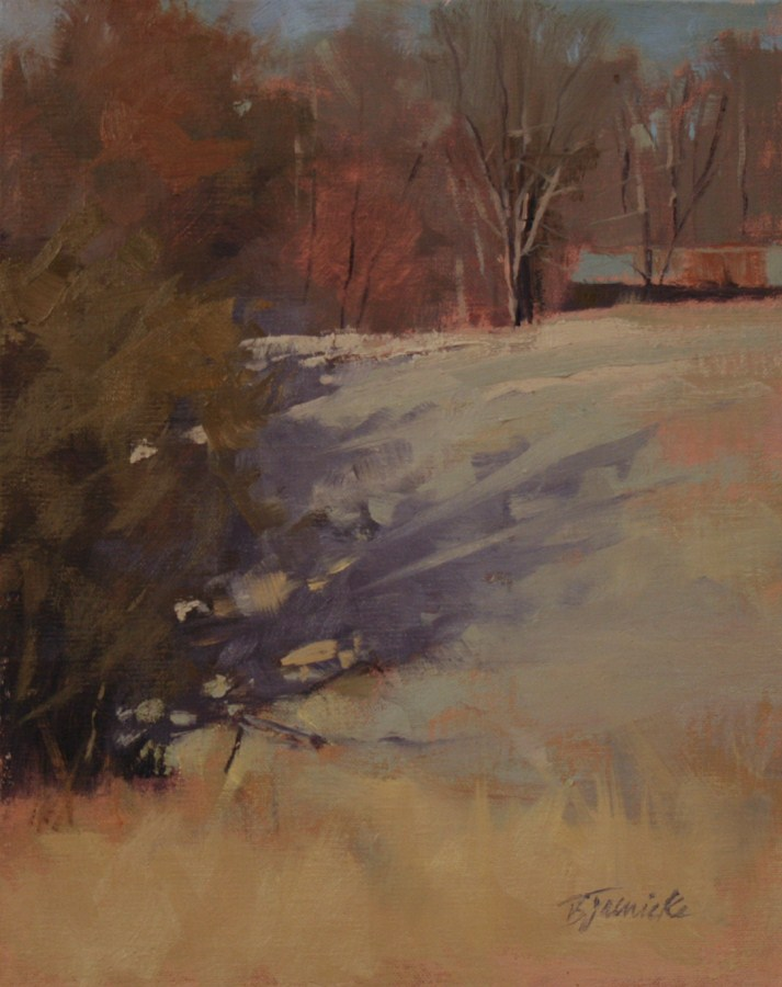 """Evening Shadows Moving In"" original fine art by Barbara Jaenicke"
