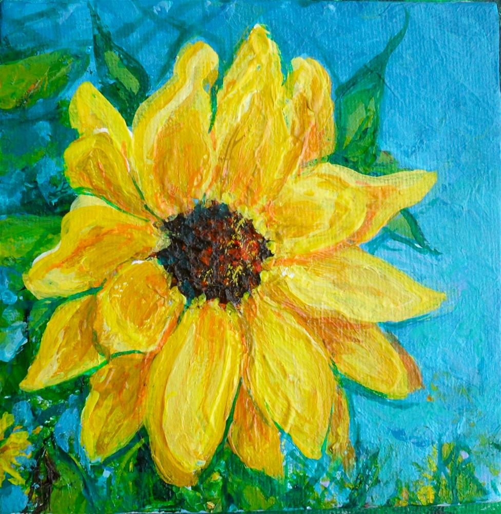"""Rise And Shine"" original fine art by Karen Roncari"