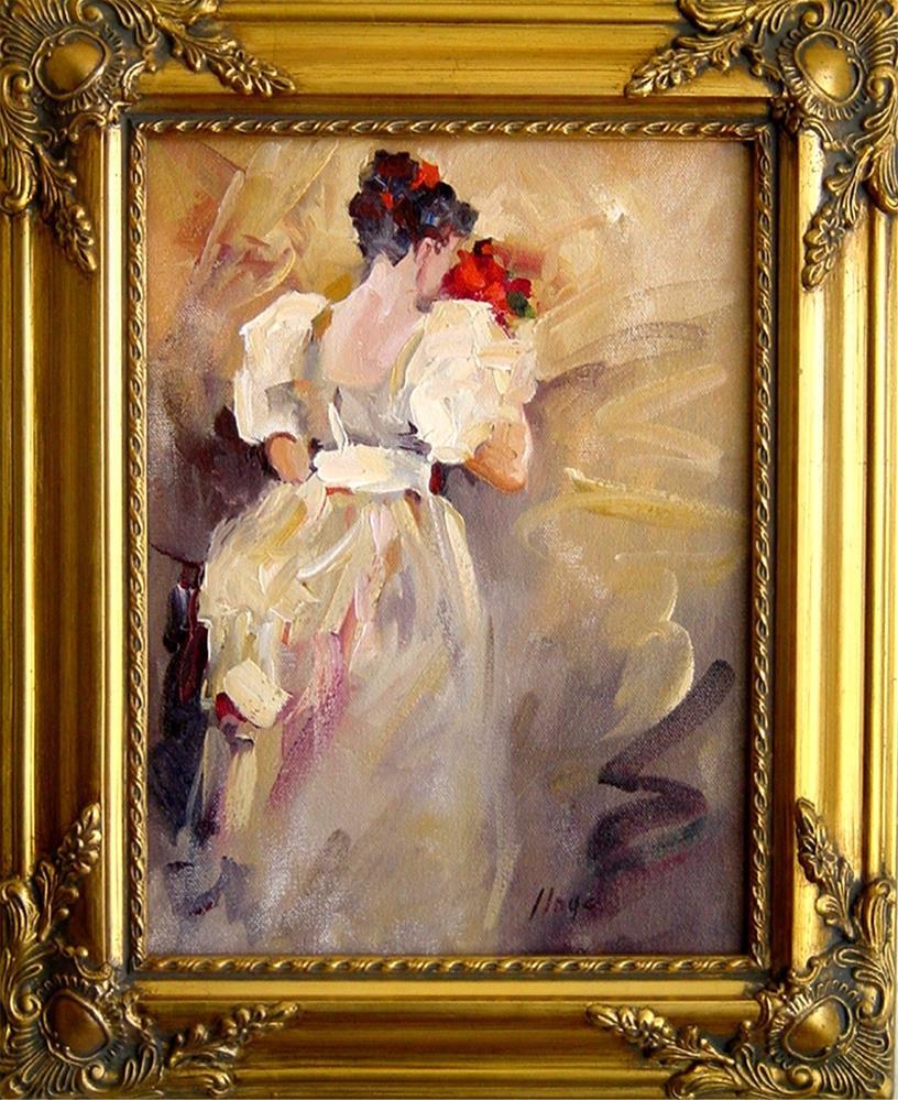 """The Bouquet"" original fine art by Diane Lloyd"