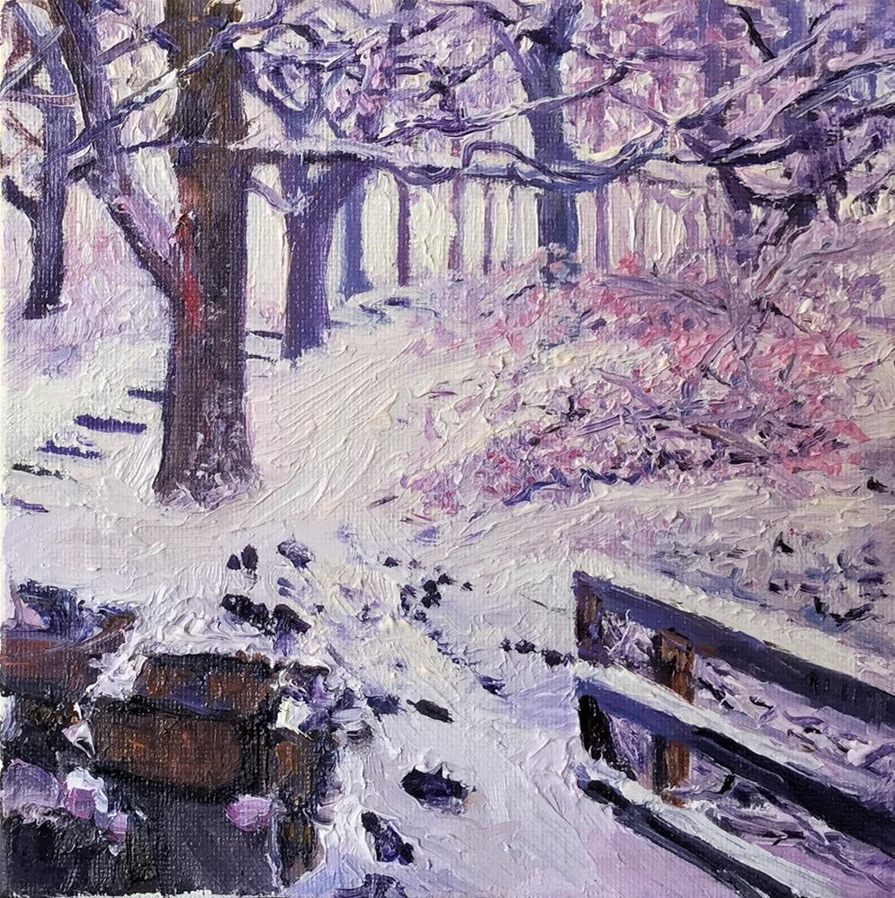 """Winter Wander"" original fine art by Patricia Matranga"