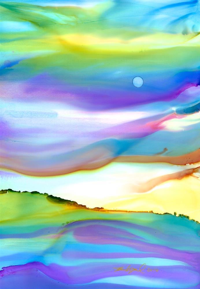 """""""Harmony"""" original fine art by Karen Wysopal"""