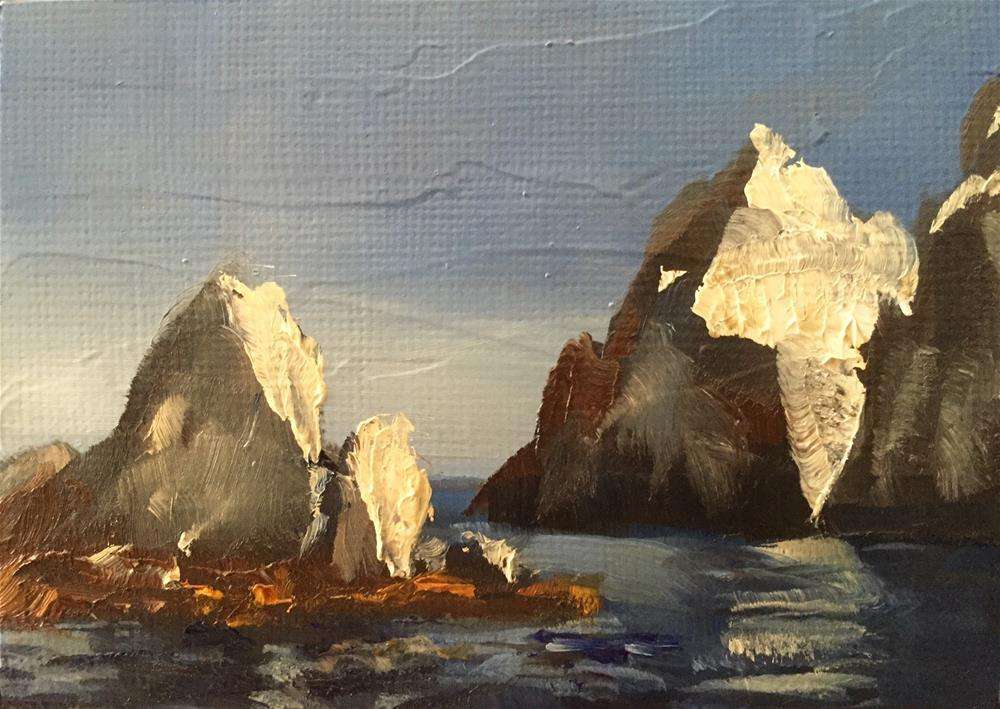 """Cabo, Afternoon Light"" original fine art by Gary Bruton"