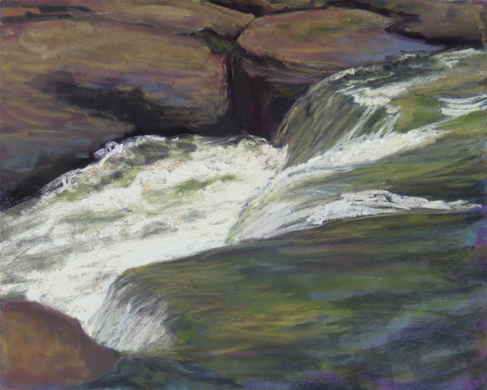 """Water Flow"" original fine art by Marsha Savage"