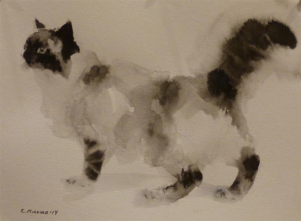 """adopt58"" original fine art by Katya Minkina"