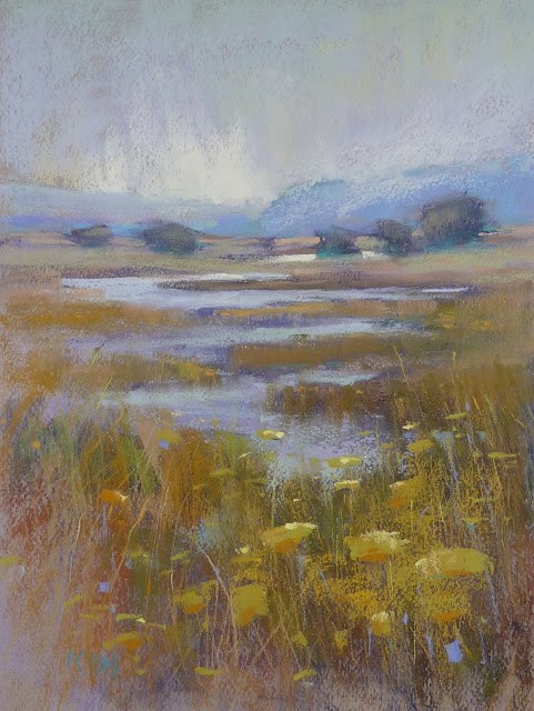 """Behind the Scenes: A California Landscape"" original fine art by Karen Margulis"