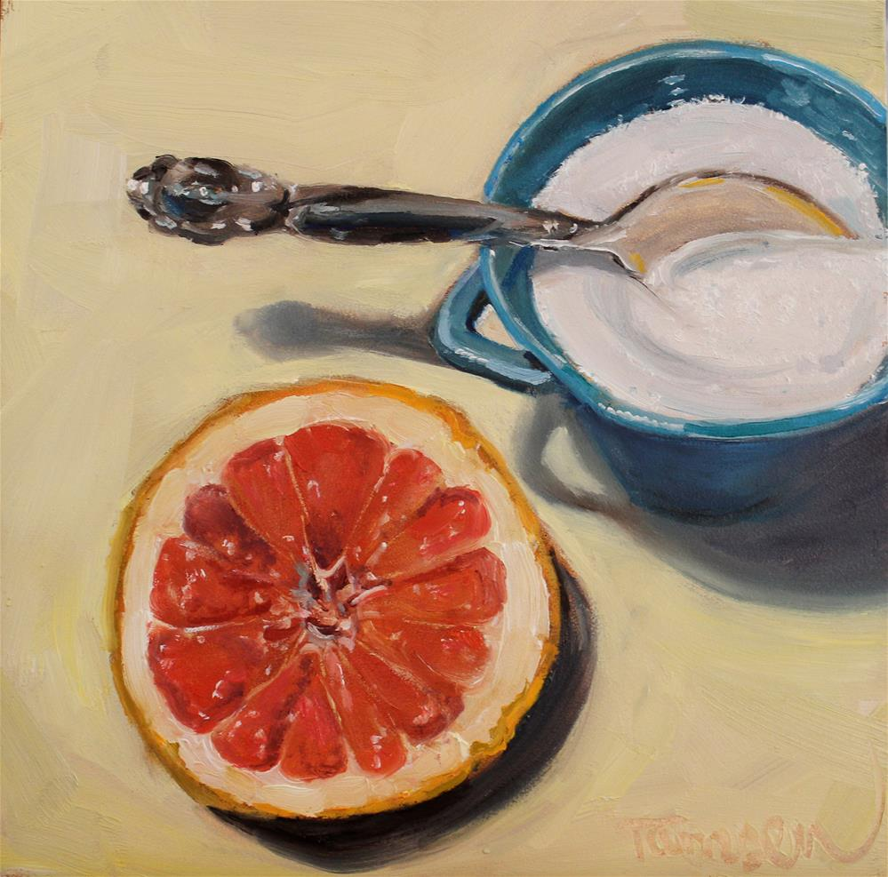 """Sweet Morning"" original fine art by Tamsen Armstrong"