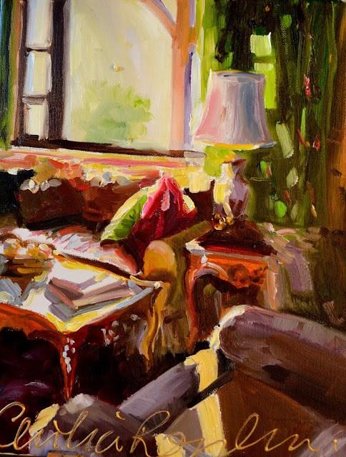 """""""DIE VOORHUIS"""" original fine art by Cecilia Rosslee"""