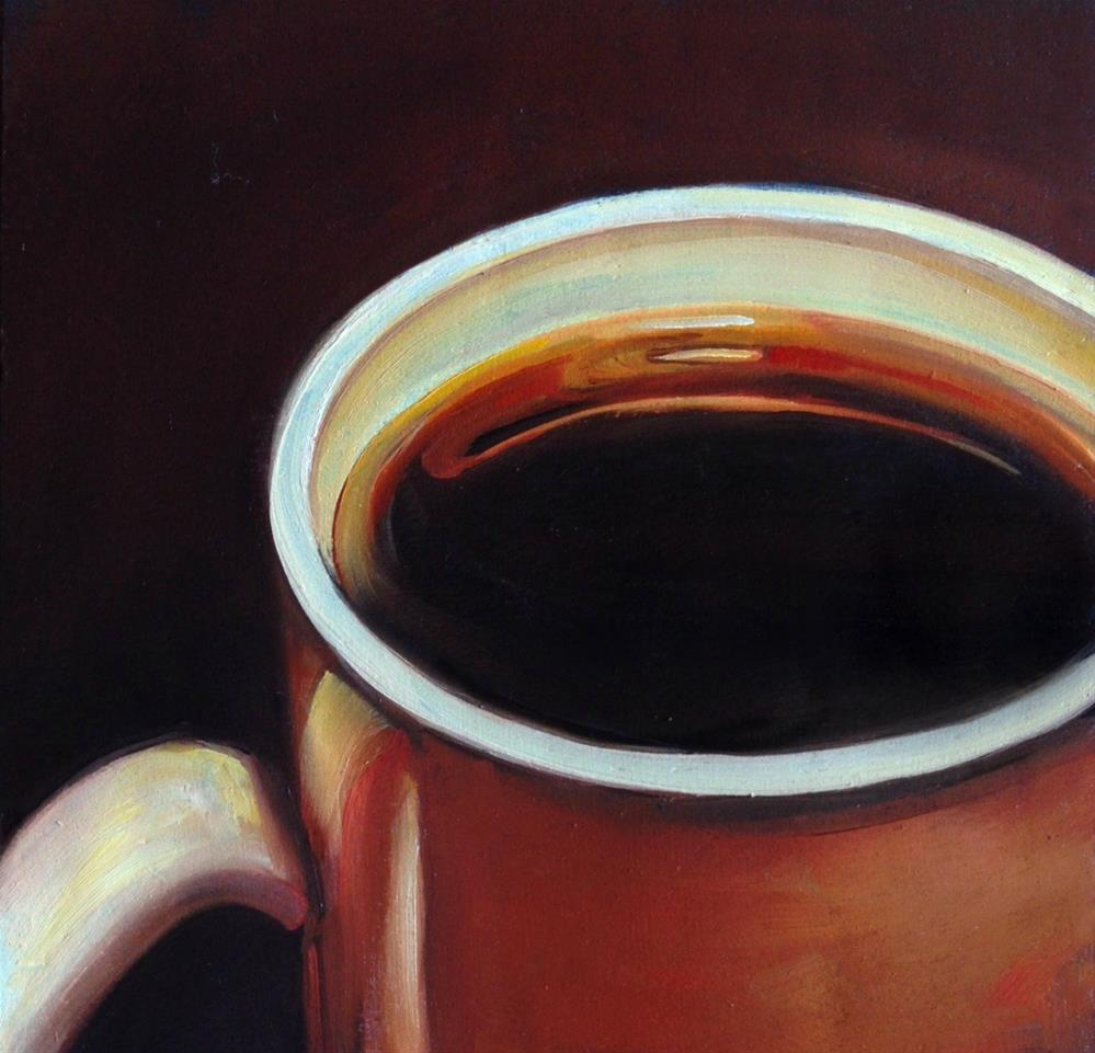"""About the Joe #6"" original fine art by Beth Moreau"