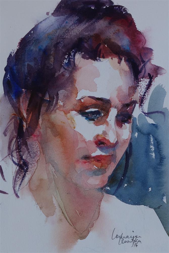 """""""Dancer"""" original fine art by Lorraine Lewitzka"""